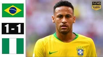 Video: Brazil 1 - 1 Nigeria (Oct-13-2019) Friendly Highlights