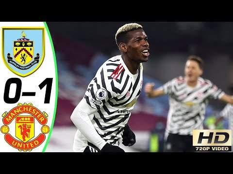 Burnley 0 - 1 Manchester Utd (Jan-12-2021) Premier League Highlights