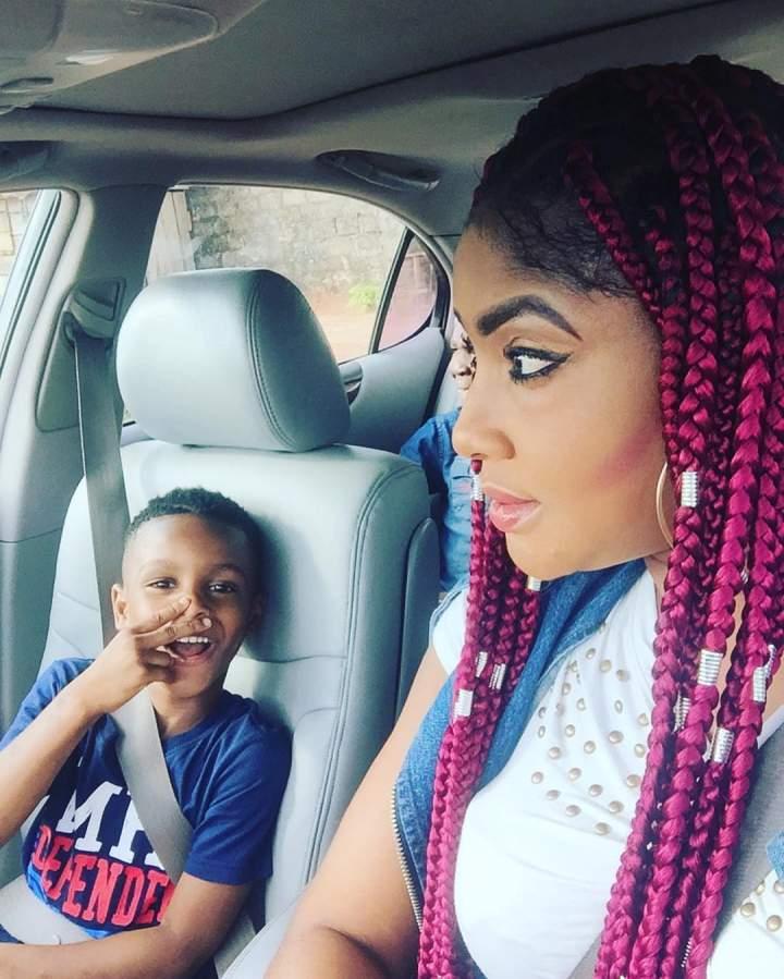 Angela Okorie & Son 2