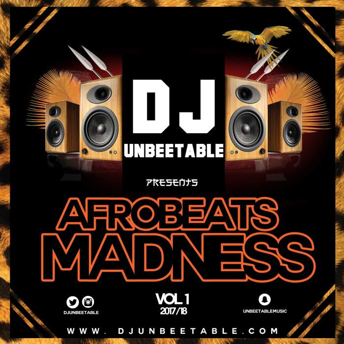 DJ Unbeetable - Afrobeats Madness (Vol. 1)