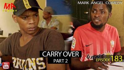 Comedy Skit: Mark Angel Comedy - Episode 183 (Carry Over Part 2)