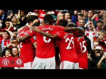 Video: Man United 4 - 0 Chelsea (Aug-11-2019) Premier League Highlights
