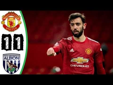 West Brom 1 - 1 Manchester Utd (Feb-14-2021) Premier League Highlights