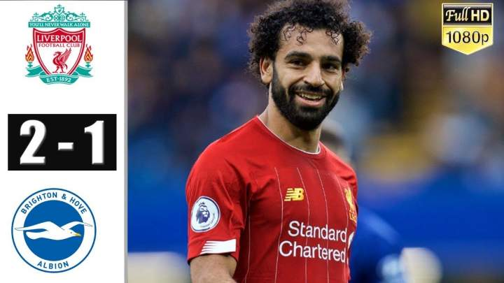 Liverpool 2 - 1 Brighton (Nov-30-2019) Premier League Highlights