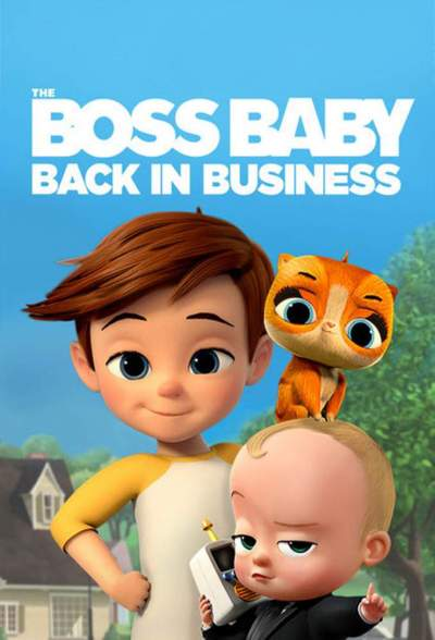 Series Download: The Boss Baby: Back in Business (Complete Season 4)
