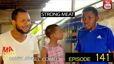 Comedy Skit: Mark Angel Comedy - Episode 141 (Strong Meat)