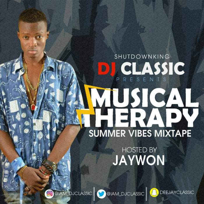 DJ Classic - Musical Therapy (Summer Vibez) 2017 Vol. 2