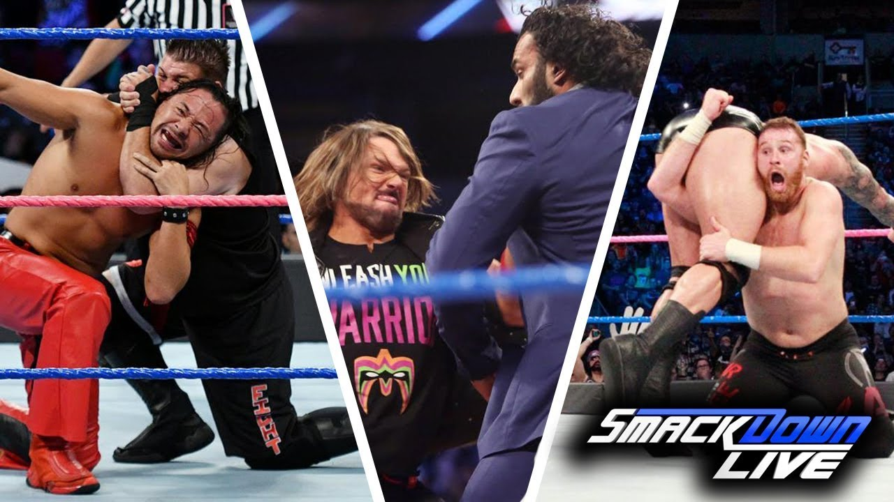 WWE SmackDown (Oct-7-2017) Highlights