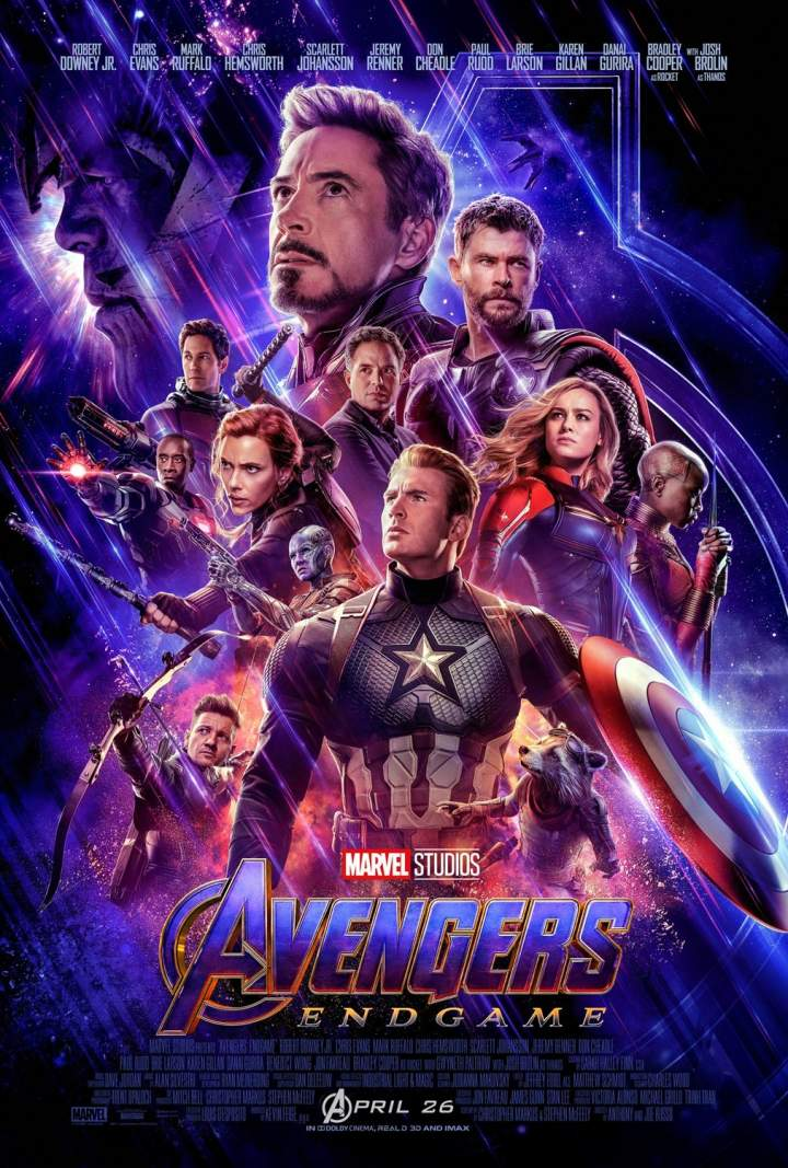 MOVIE : Avengers Endgame 2019