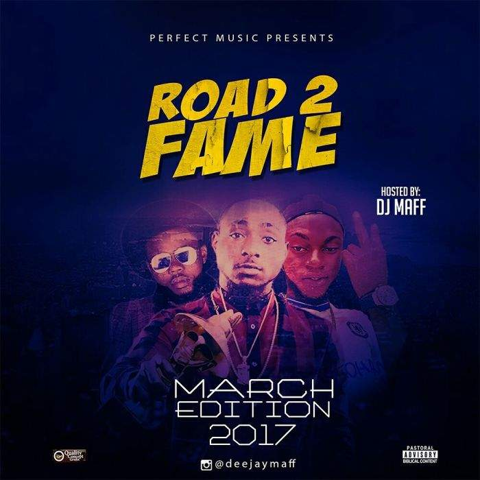 DJ Maff - Road 2 Fame Mix (March 2017 Edition)