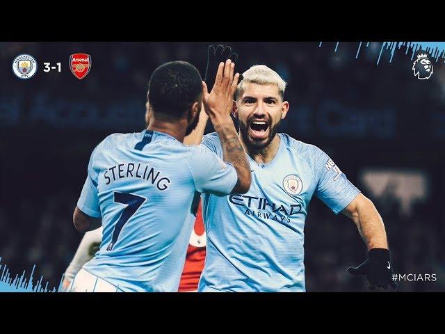 Man. City 3 - 1 Arsenal (Feb-03-2019) Premier League Highlights