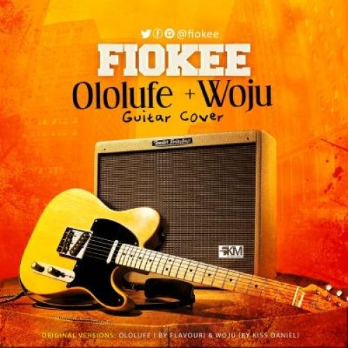 Fiokee - Woju (Guitar Cover) (feat. Kiss Daniel)