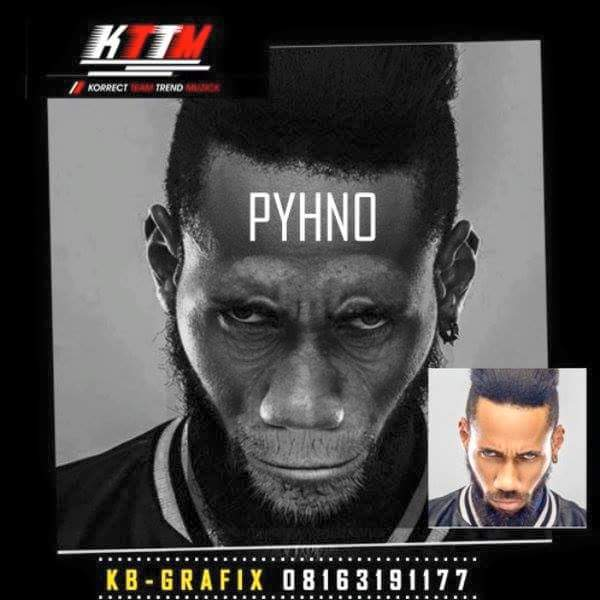 See What A Graphic Designer Turned This Phyno's Photo To