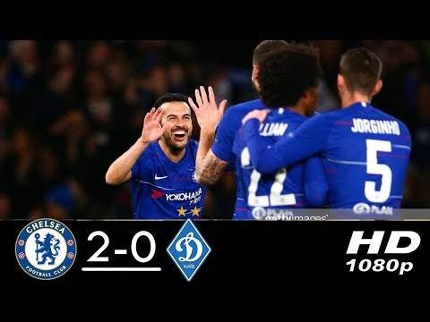 Chelsea 3 - 0  Dynamo Kyiv (Mar-07-2019) UEFA Europa League Highlights