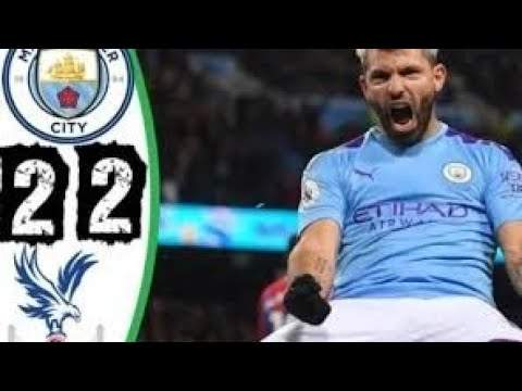 Manchester City 2 - 2 Crystal Palace (Jan-18-2020) Premier League Highlights