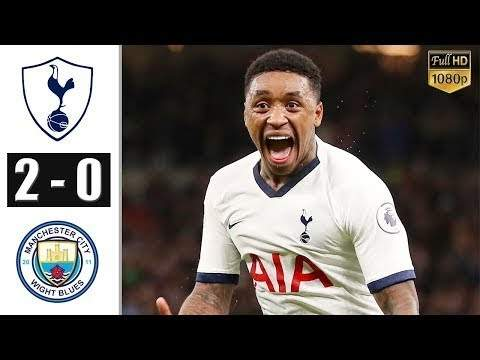 Tottenham 2 - 0 Manchester City (Feb-02-2020) Premier League Highlights