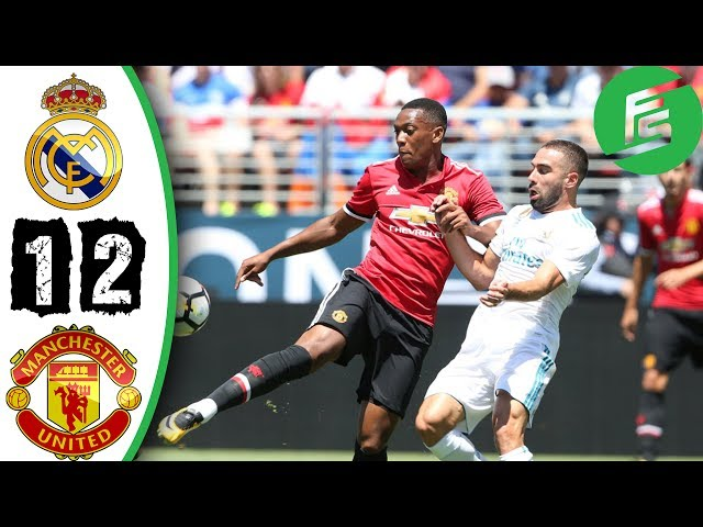 Real Madrid 1 - 1 (1 - 2 Pens) Manchester United (Jul-23-2017) Int'l Champions Cup Highlights