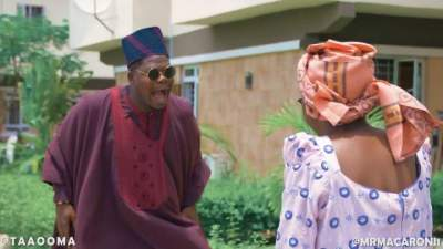 Comedy Skit: Taaooma & Mr Macaroni - The Turbulence