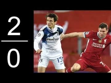 Video: Liverpool 0 - 2 Atalanta (Nov-25-2020) UEFA Champions League Highlights