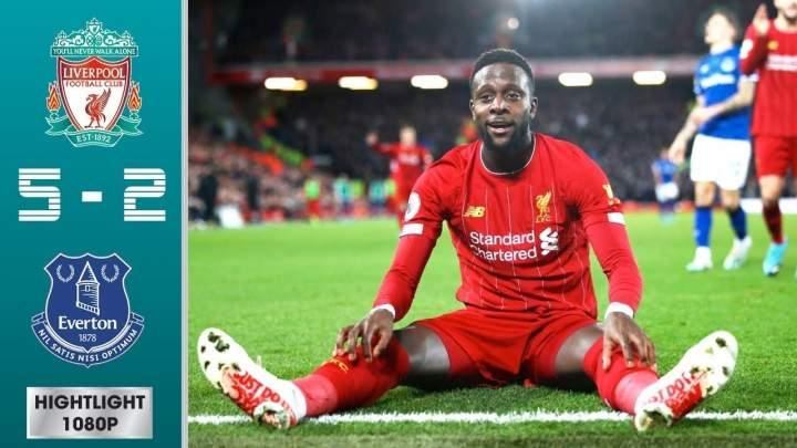Liverpool 5 - 2 Everton (Dec-04-2019) Premier League Highlights
