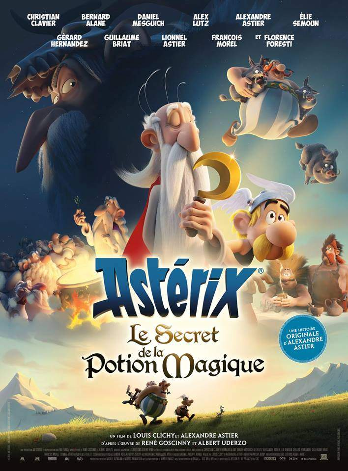 Movie: Asterix: The Secret of the Magic Potion (2018)