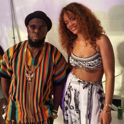 "Rihanna Grooves To Timaya's ""Bum Bum"" Song In Barbados"