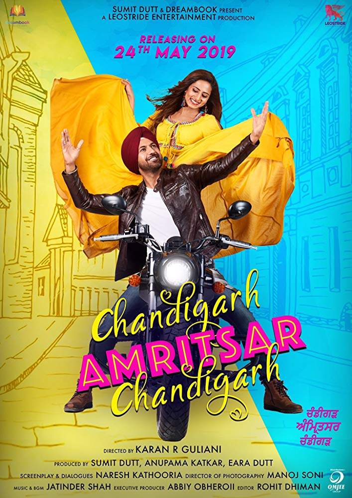 Chandigarh Amritsar Chandigarh (2019) [Indian]
