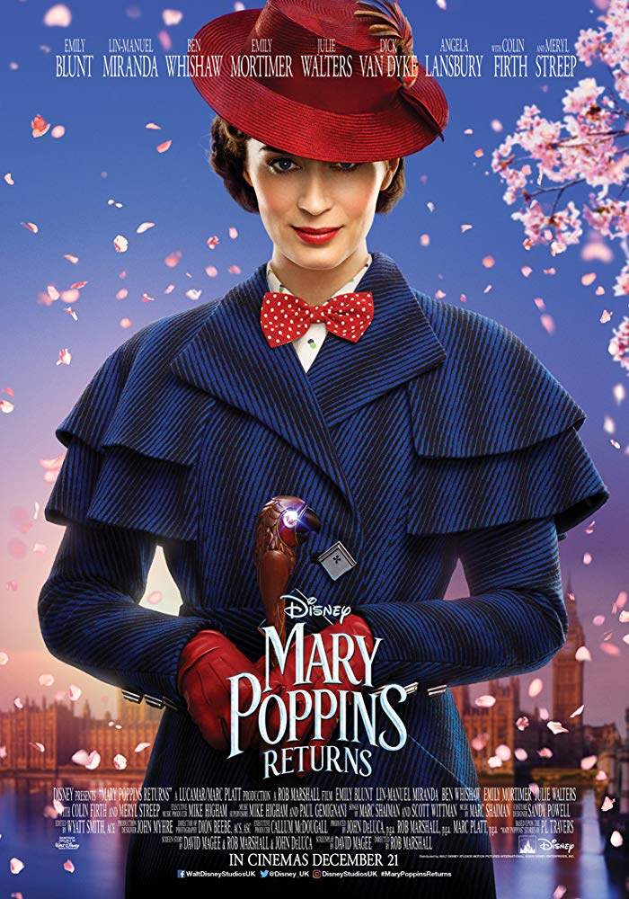 FRESH MOVIE :Mary Poppins Returns (2018)
