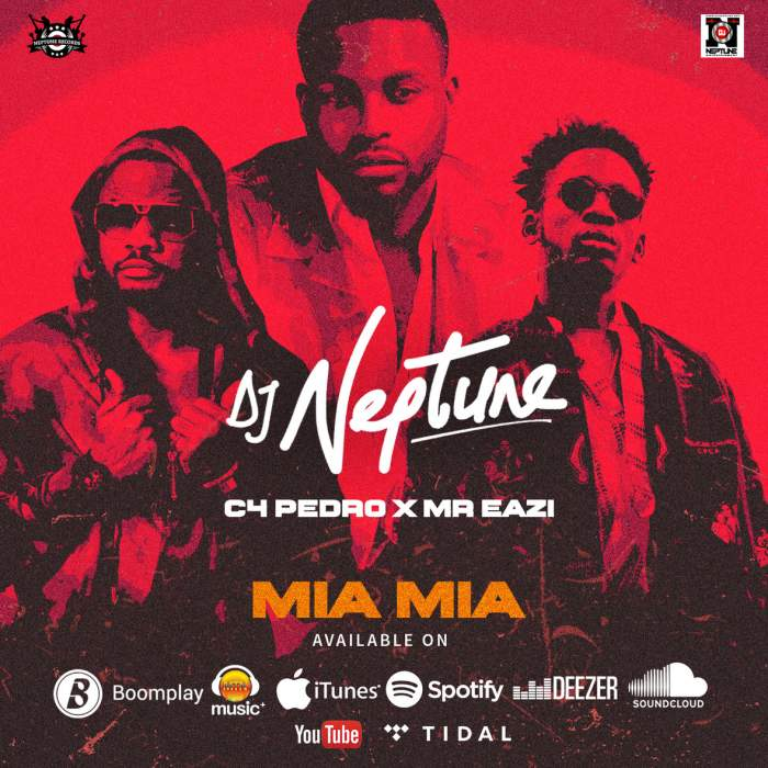 DJ Neptune - Mia Mia (feat. Mr Eazi & C4 Pedro)