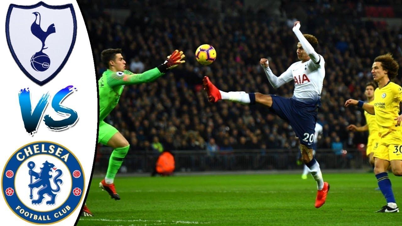 Tottenham 3 - 1 Chelsea (Nov-24-2018) Premier League Highlights