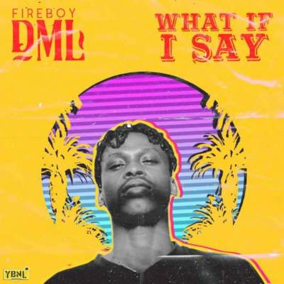 Music: Fireboy DML - What If I Say [Prod. by Pheelz]