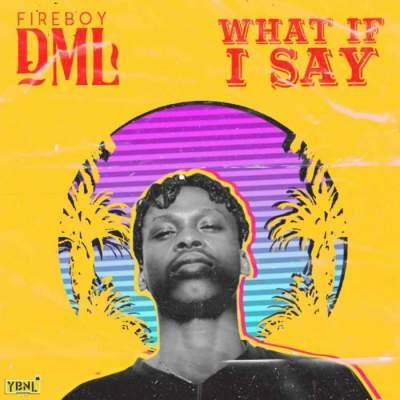 Music: Fireboy DML - What If I Say [Prod. by Pheelz]