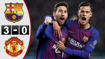Video: Barcelona 3 - 0 Manchester United (16-APR-2019) Champions League Highlights