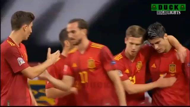 Spain 6 - 0 Germany (Nov-17-2020) UEFA Nations League Highlights
