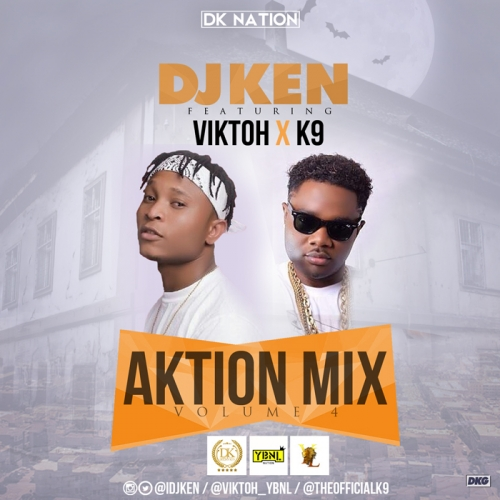 DJ Ken - Aktion Mix (Vol. 4) (feat. Viktoh & K9)