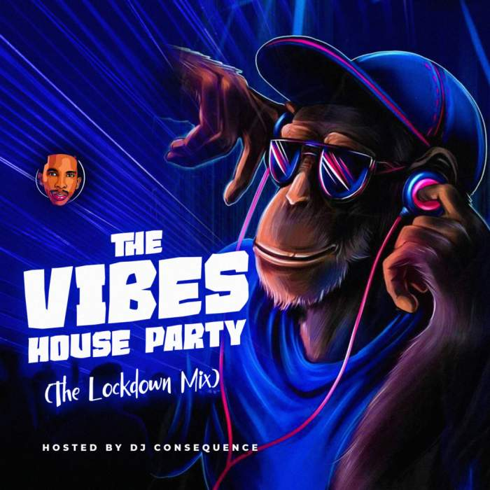 DJ Consequence - The Vibes House Party (The Lockdown Mix)