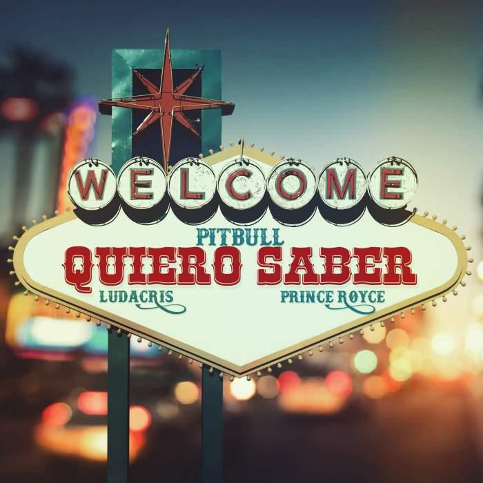 Pitbull - Quiero Saber (feat. Ludacris & Prince Royce)