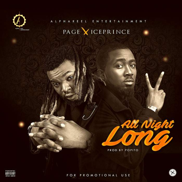 Page - All Night Long (feat. Ice Prince)