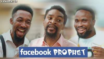 Comedy Skit: YAWA - Episode 55 (Facebook Prophet)