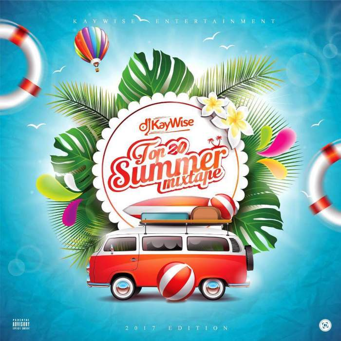 DJ Kaywise - Top 20 Summer Mixtape (2017)