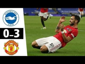 Video: Brighton 0 - 3 Manchester Utd (Jun-30-2020) Premier League Highlights