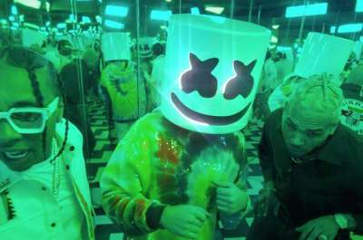 Video: Marshmello, Tyga & Chris Brown - Light It Up