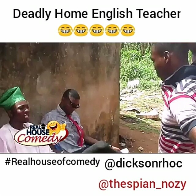 When your English teacher is a professor of Pidgin English