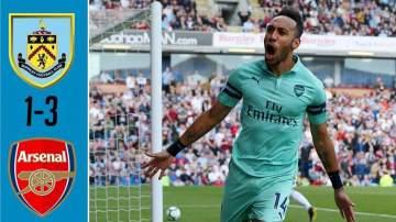 Video: Burnley 1 - 3 Arsenal (12-MAY-2019) Premier League Highlights