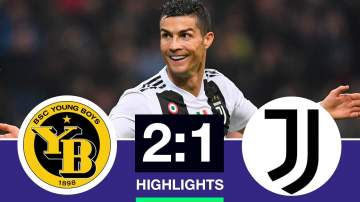Video: Young Boys 2  - 1 Juventus (Dec-12-2018) Champions League Highlights