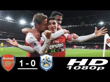 Video: Arsenal 1 - 0 Huddersfield (Dec-08-2018) Premier League Highlights
