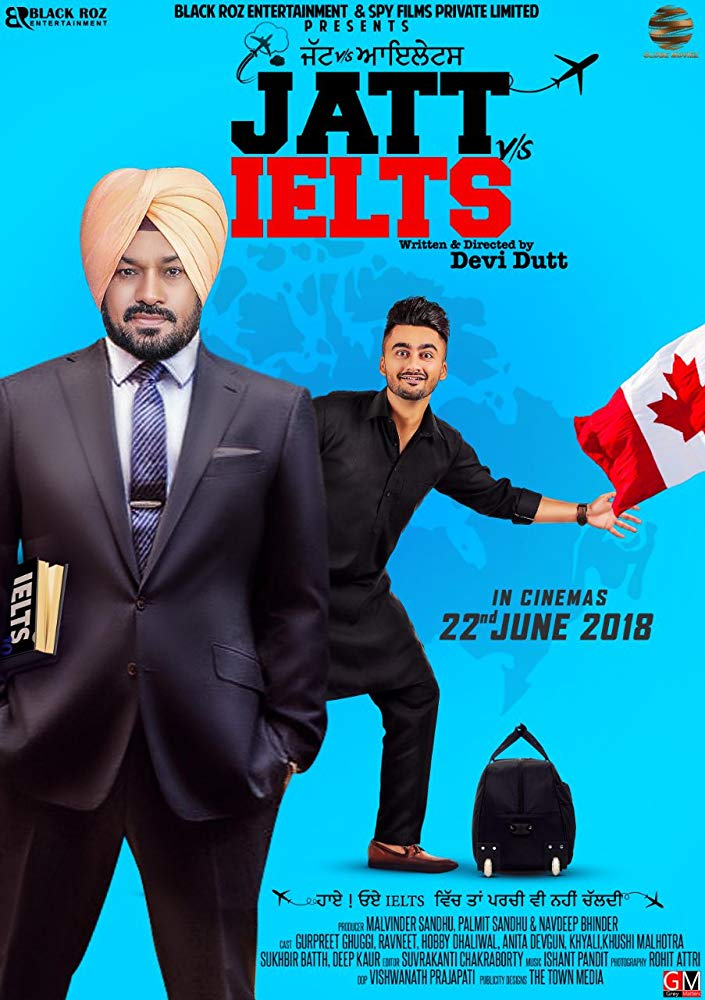 Jatt vs. Ielts (2018) [Indian]