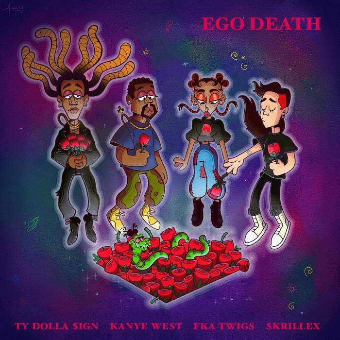 Ty Dolla Sign - Ego Death (feat. Kanye West, FKA twigs & Skrillex)