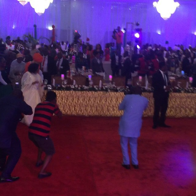 Watch First Lady Patience Jonathan Dancing as Kcee Performs 'Fine Face'