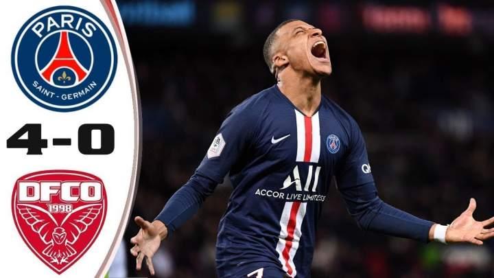 Paris SG 4 - 0 Dijon (Feb-29-2020) Ligue 1 Highlights